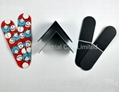 Soft rubber magnetic bookmark for 2013 promotional gifts