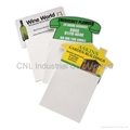 Magnetic shopping list pad/ magnetic memo pad/ magnetic note this