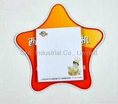 Customized magnetic paper scratchpad with logo printing