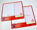 Customized magnetic paper scratchpad with logo printing 4