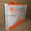 Non woven handle bag with printing