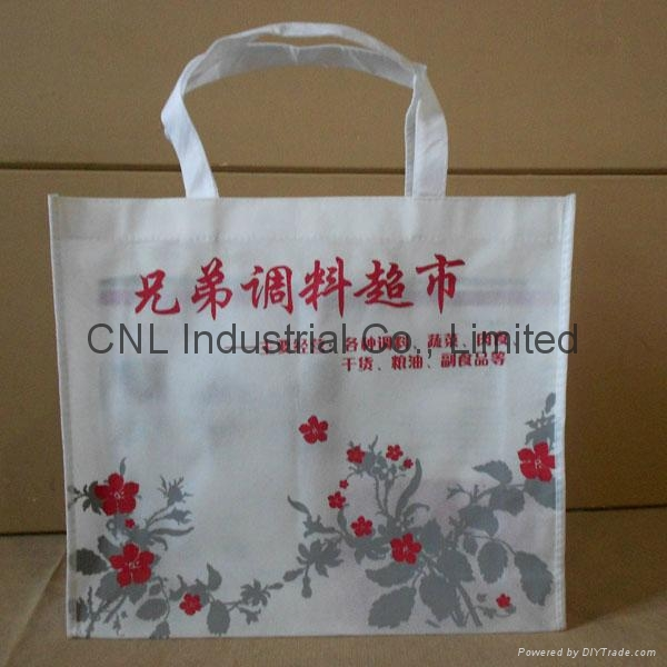 Promotional picture printed non woven tote bag 6