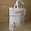 Promotional picture printed non woven tote bag 5