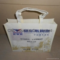 Promotional picture printed non woven tote bag 7