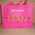 Promotional picture printed non woven tote bag 8