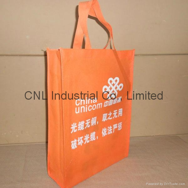 High quality logo printed pp non woven shopping tote bag 8