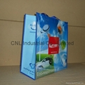 Customzied laminated non woven shopping bag
