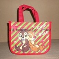 Non-woven reinforced handle/tote  bag
