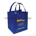 Promotional reinforced non woven handle shopping bag 2