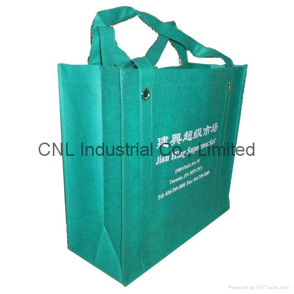 Promotional reinforced non woven handle shopping bag 10