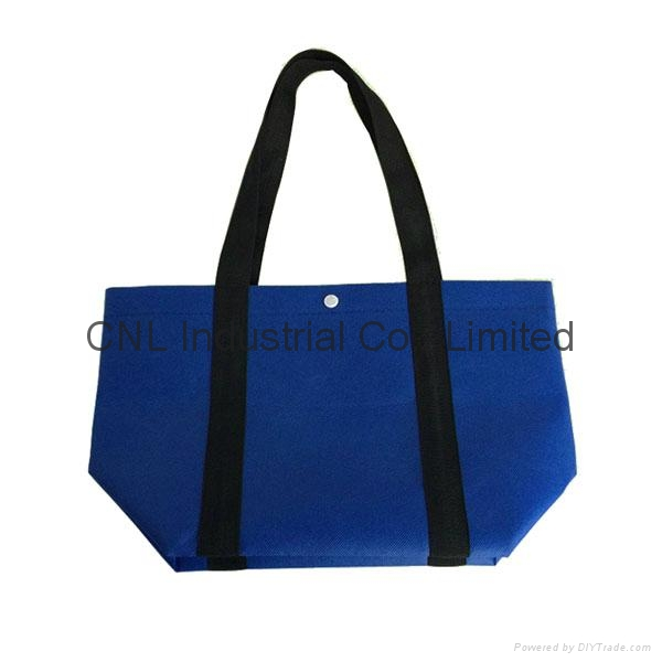 Picture printed non woven strengthening handle bag 5