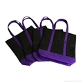 Picture printed non woven strengthening handle bag