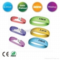 Silicone Bracelet USB Flash Drive for Promotional Gift  4