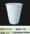 100% compostable cornstarch tableware dinnerware five piece unit 4