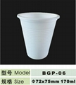 6 oz disposable biodegradable cup