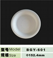 6inch disposable biodegradable  plate