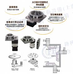 數控雕刻機機械設備專用臺灣中空平台減速機NK中空旋轉平台