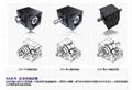 中空轴直角减速机转角减速器拐角减速机标配伺服电机厂家直销 2
