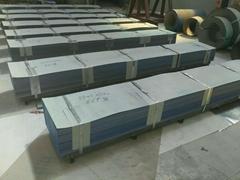 专业生产涂料桶镀锌板分条开平