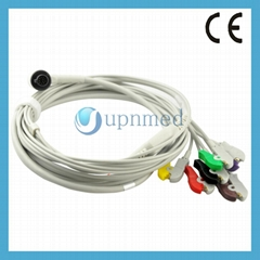 Corpuls one piece 6 lead ecg cable