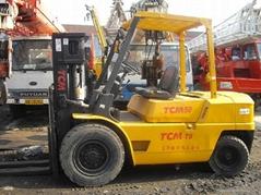 Used forklift TCM 5T