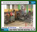 CNC Hydraulic Plate Punching and Drilling Machine