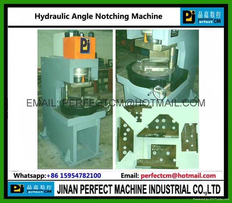 Hydraulic Angle Notching Machine 1