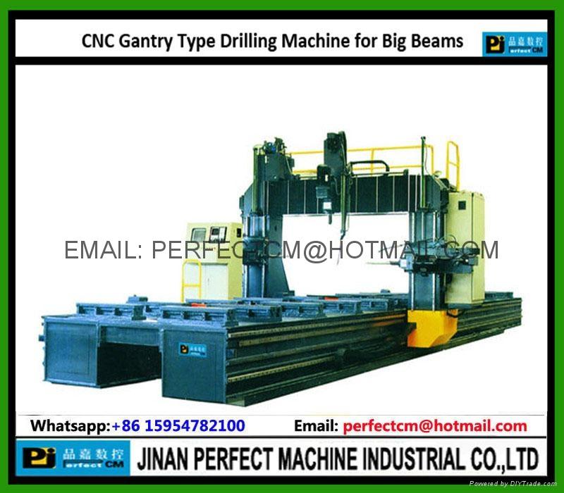Gantry Type CNC Beam Drilling Line