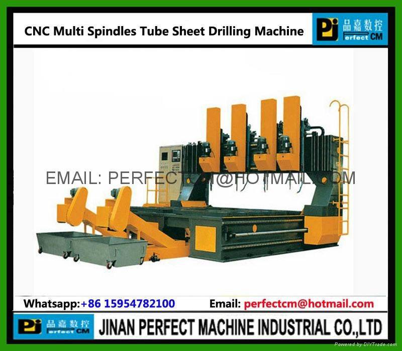High Speed Multi Spindles CNC Drilling Machine