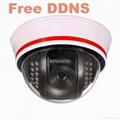 WIFI Dome IP camera KW-IP9111W Free DDNS