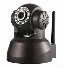 无线摇头夜视网络摄像机
