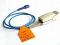 Hot! Nellcor DS 100A Non-OxiMax Adult Finger Clip Spo2 Sensor Probe  3 ft 7 pin
