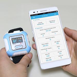 Hot selling Digital Wrist Pulse Oximeter OLED 2