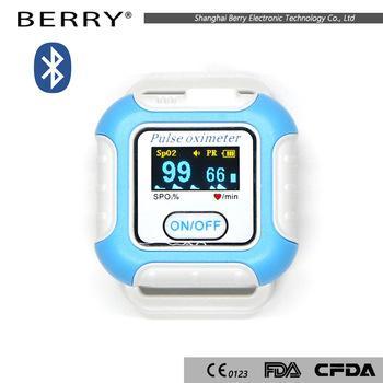 熱銷數字式手腕脈搏血氧計OLED 3