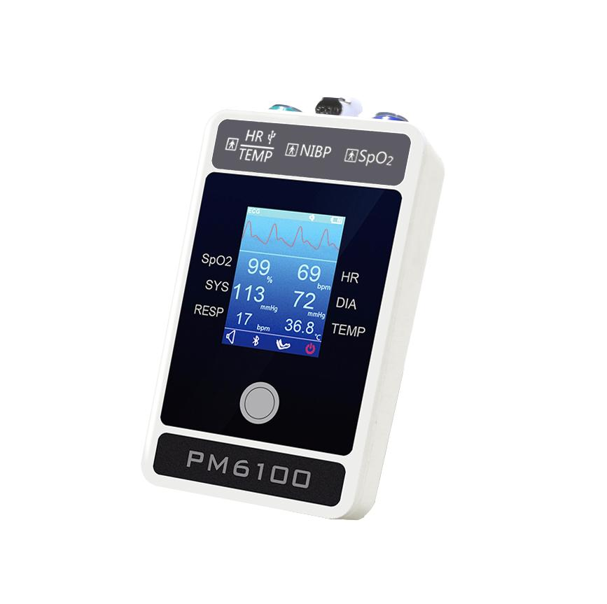 Handheld Bluetooth Patient Monitor with CE approved 2
