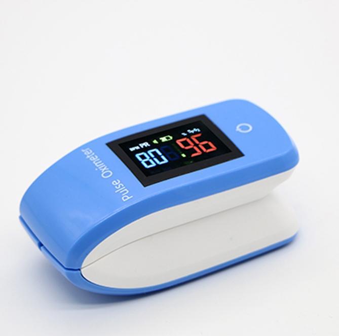 数字OLED指夹蓝牙脉搏血氧仪 1