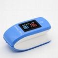 Digital OLED Finger Blood Oxygen Monitor