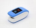 Digital OLED Finger Blood Oxygen Monitor Bluetooth Pulse Oximeter