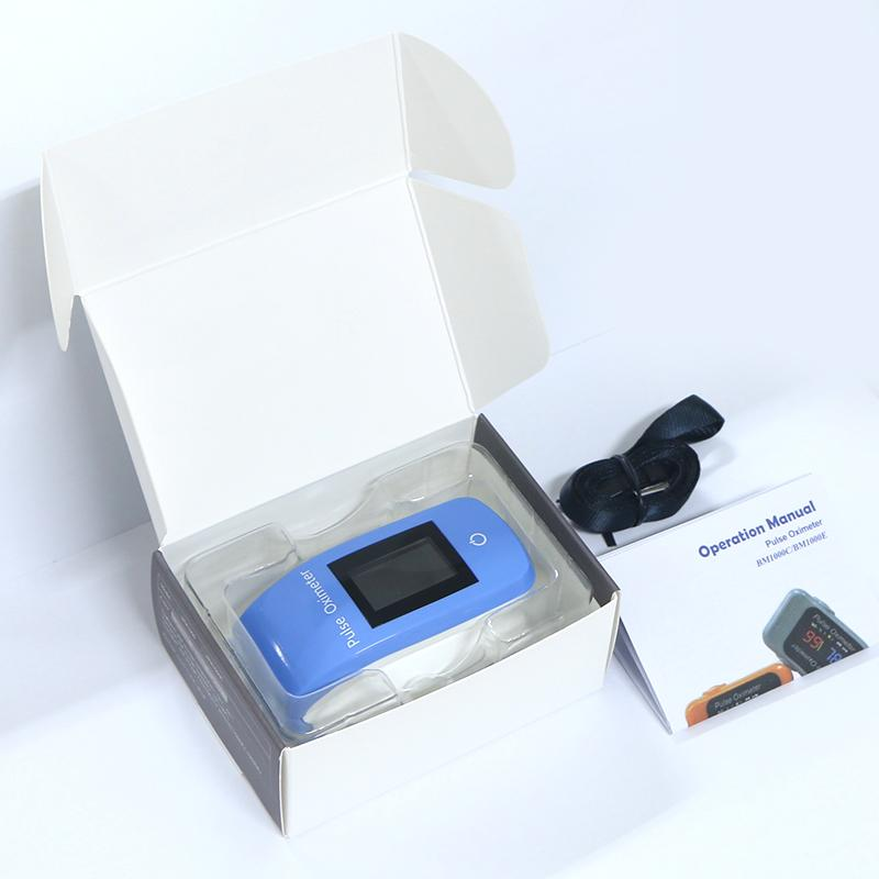FDA&CE认证   的OLED屏指尖脉搏血氧仪 3