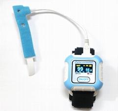 批發OLED屏無線藍牙腕式血氧儀