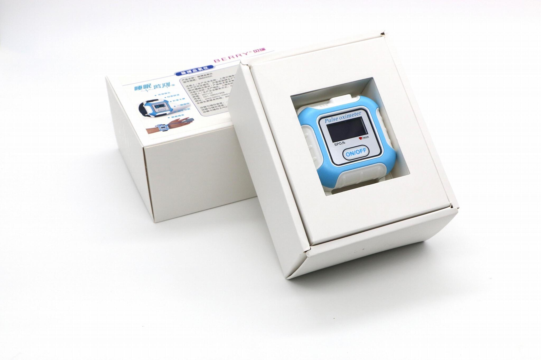 批發OLED屏無線藍牙腕式血氧儀 3