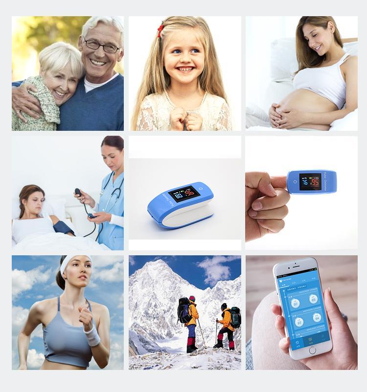 在阿里巴巴上熱賣的具有CE和FDA資質的指夾血氧儀 3