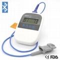 醫療家庭使用微型掌上脈搏血氧儀 1