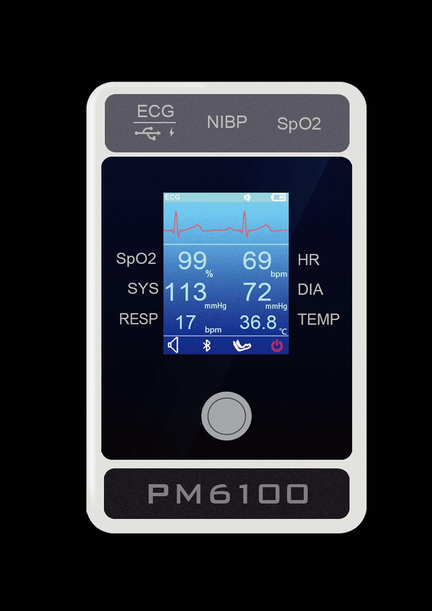 多参数专业医疗设备患者监护仪 4