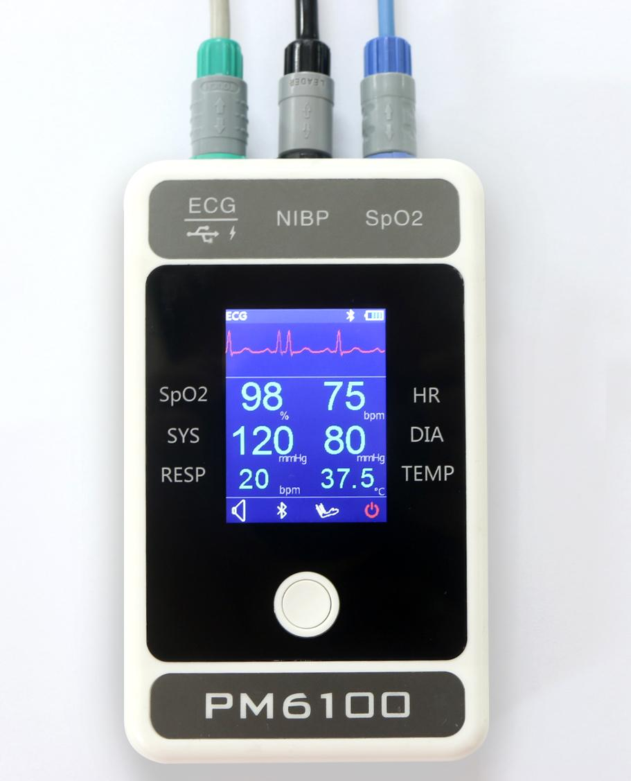 价格便宜屏幕大的便携患者监护仪 5