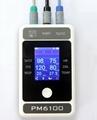 Handheld Bluetooth multiparameter patient monitor