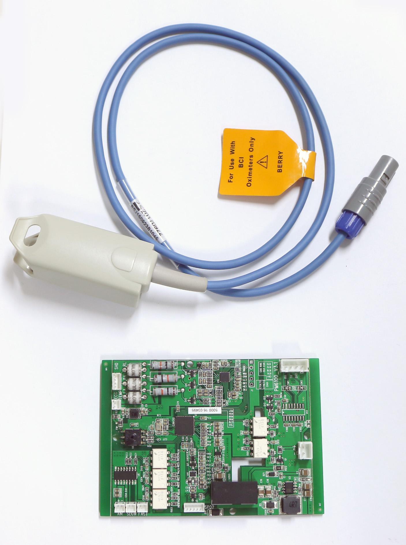 六参数模块数字血氧医用无创血压监测器 3