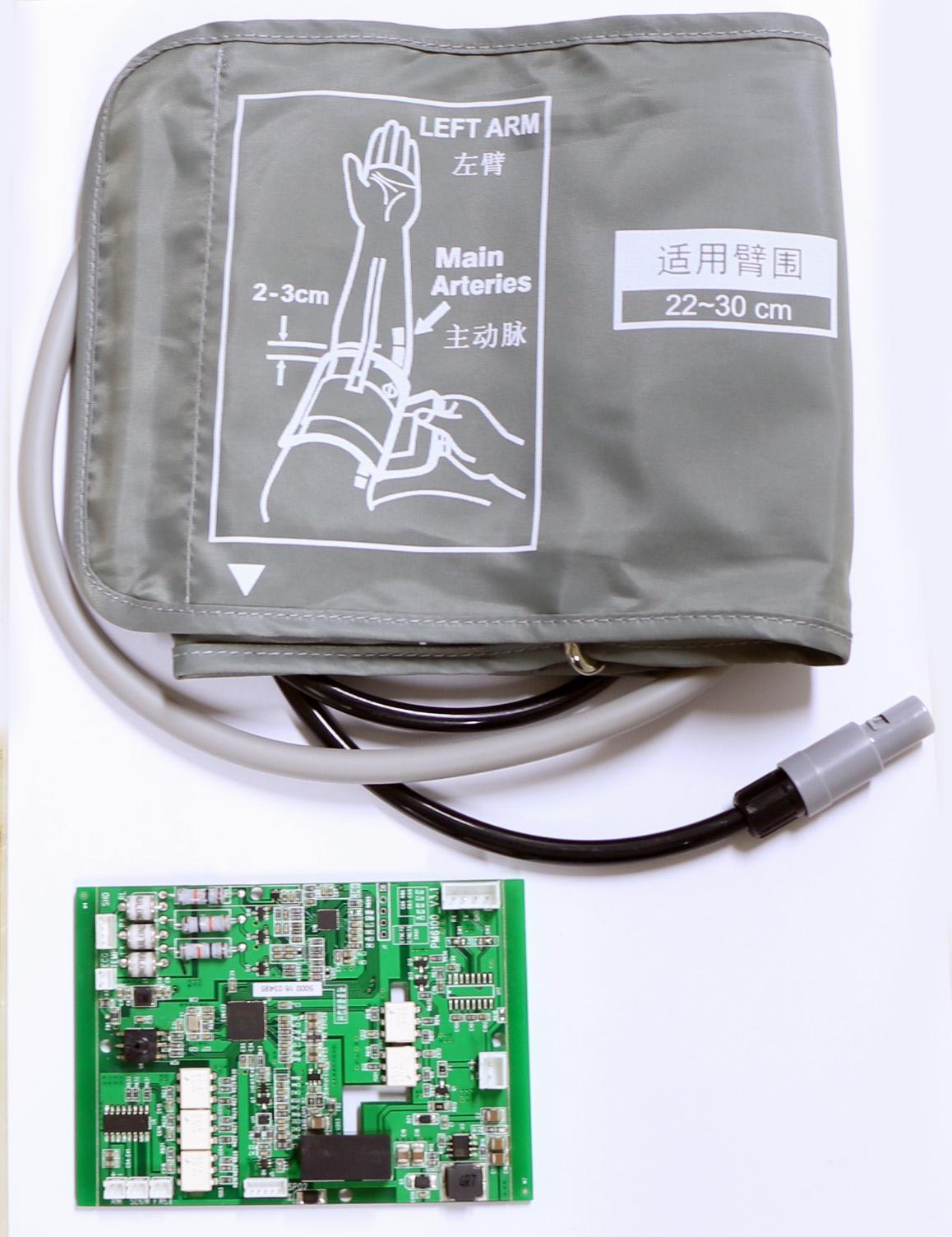六參數模塊數字血氧醫用無創血壓監測器 5