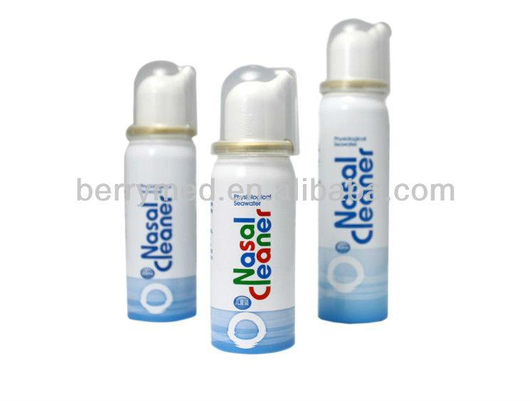 China supplier medical plastic bottle with nasal spray 5
