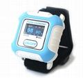 血氧传感器LCD屏医用睡眠蓝牙腕部脉搏血氧仪 2
